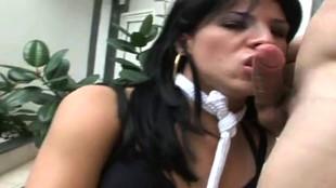 Une vidéo XXX de transexuel qui se tape un gars